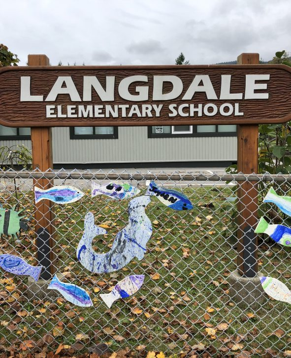 Langdale Front Sign